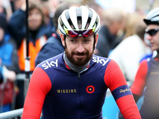 Sir Bradley Wiggins at Stage 2 of 2015 Tour de Yorkshire - picture Alex WhiteheadSWpix.com