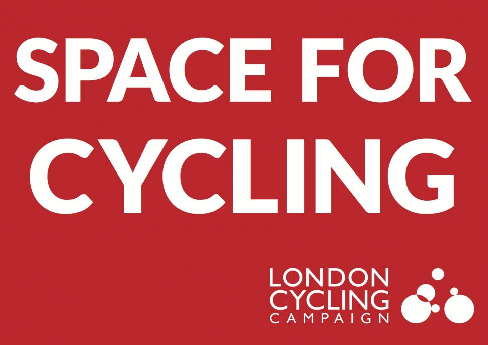 Space for Cycling flyer from London Cycling Campaign