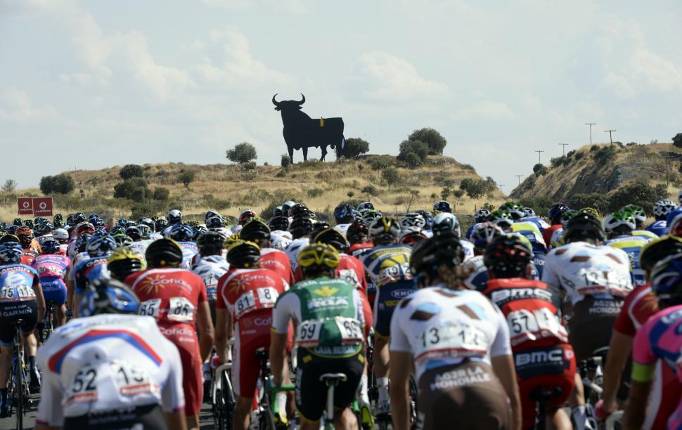 Spanish bull (copyright Unipublic:Graham Watson)
