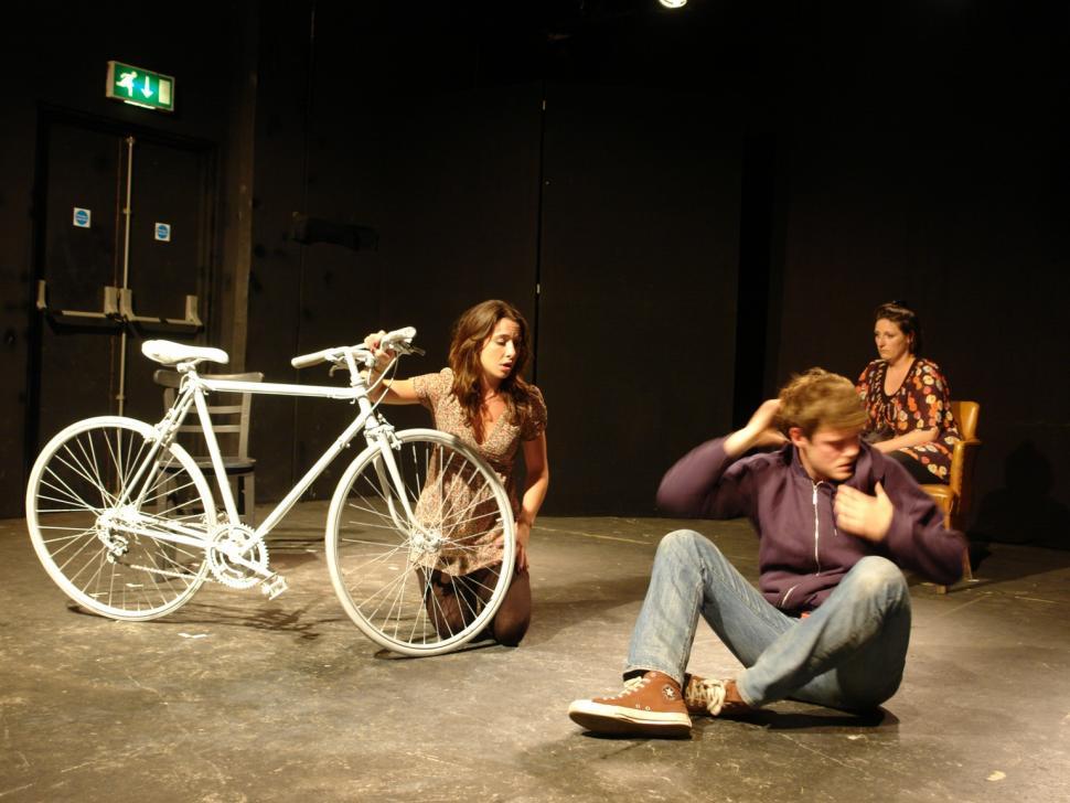 The White Bike