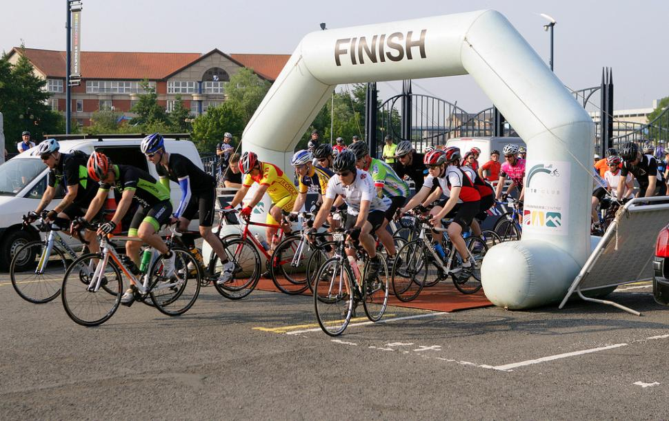 The growth of sportives has helped drive overall growth of cycling (CC licensed image by Stockport Council)