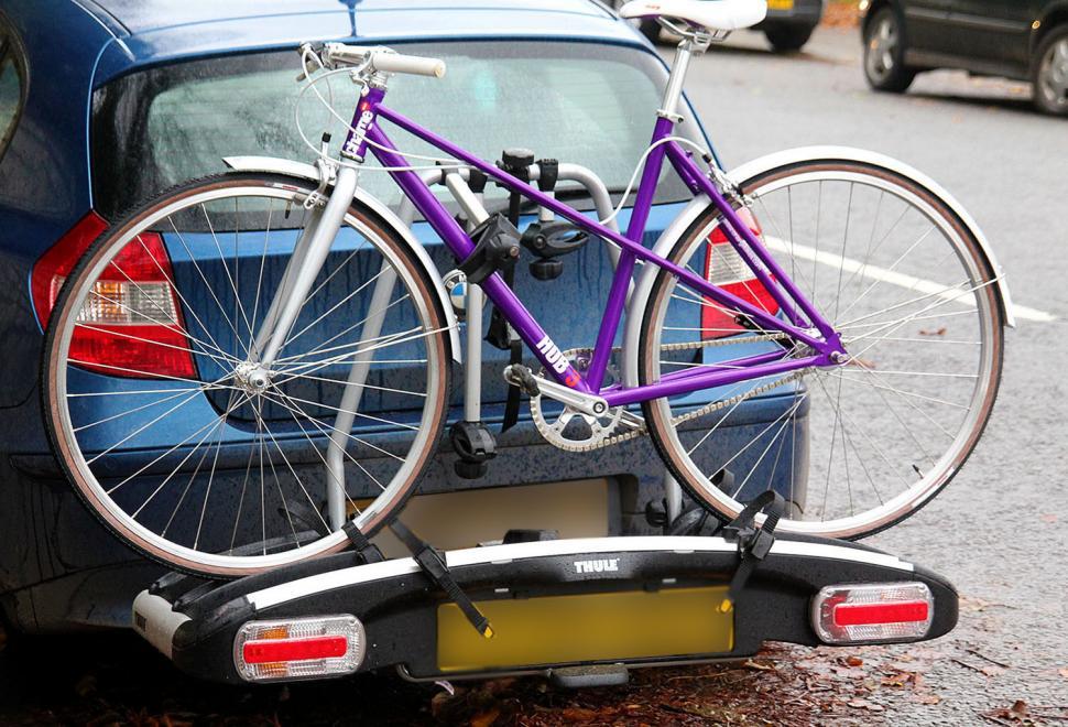 Halfords 4 Bike Tow Bar Cycle Carrier Bike Bicycle Car Rack Cycling Storage