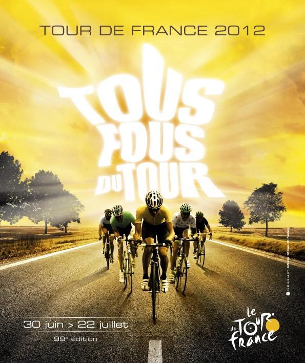 Tour de France 2012 poster