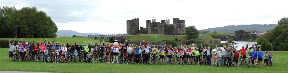 Tour of Britain launch Caerphilly.JPG