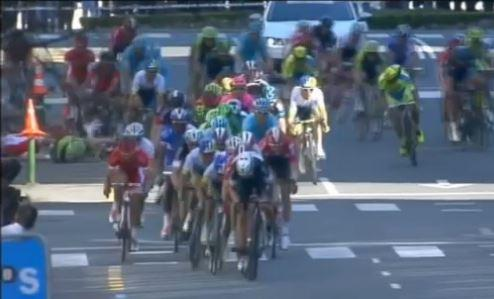 Tour of the Basque Country crash