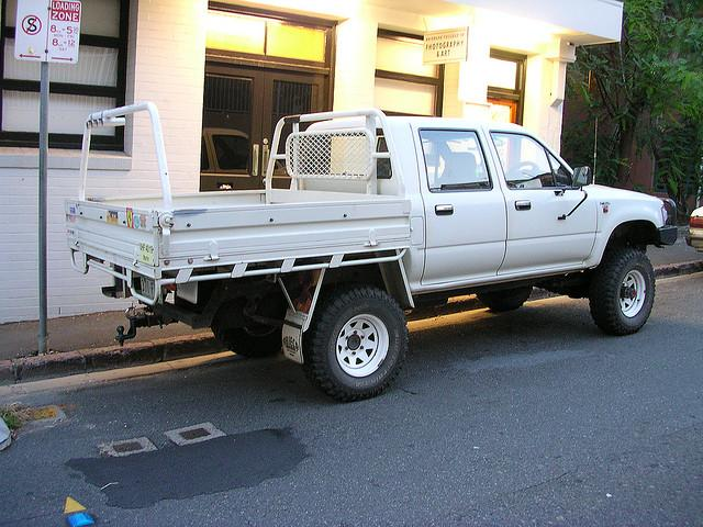 Ute in Brisbane (Flickr CC brewbooks)