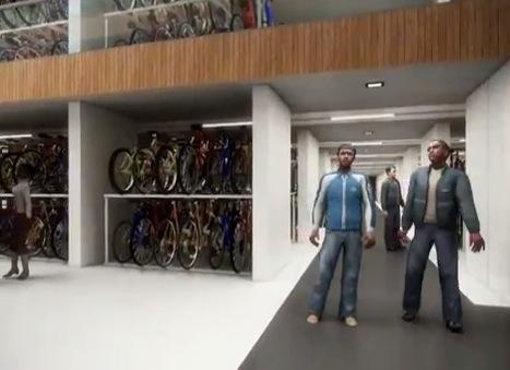 Utrecht Station Cycle Parking impression YouTube still