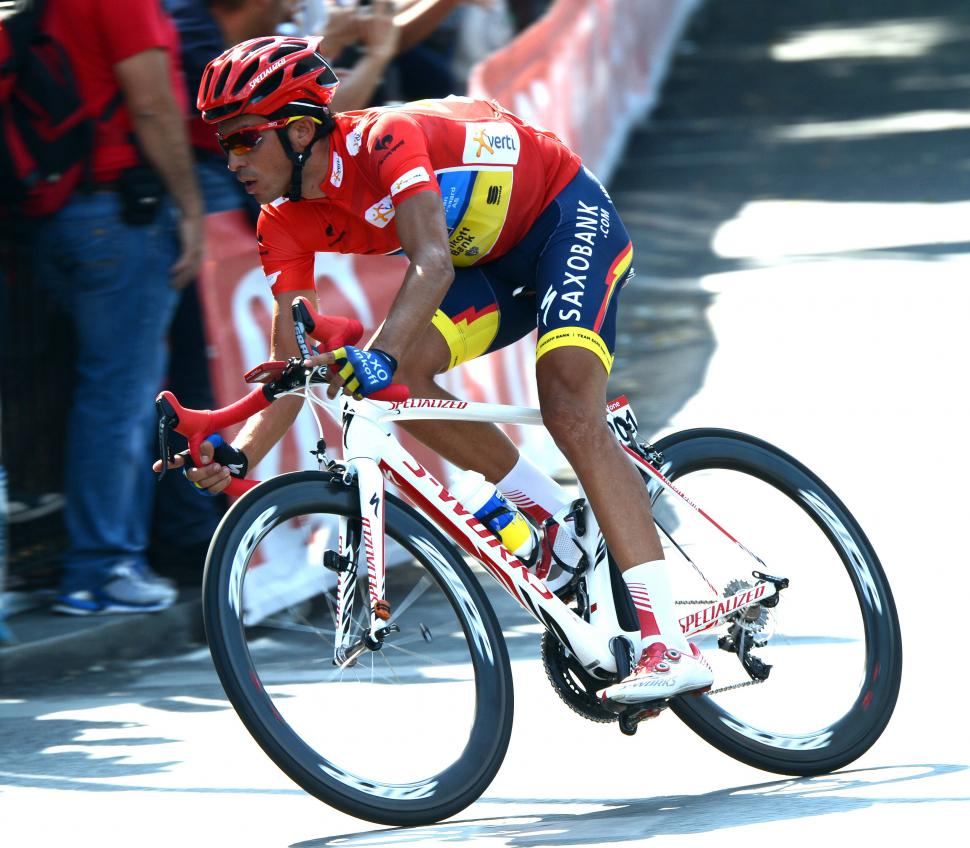 Vuelta 2012 S21 Alberto Contador on his way to victory in Madrid (copyright Unipublic:Graham Watson)