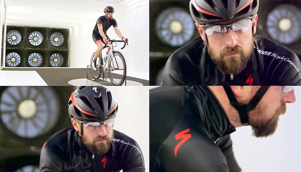Wind Tunnel beard test screen shot