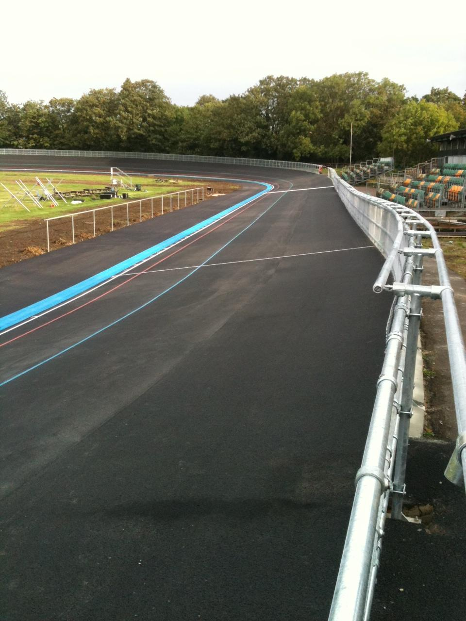 Herne Hill new track pic: www.britishcycling.org.uk