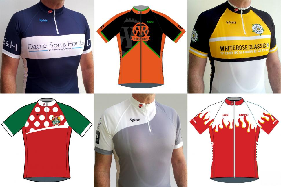 Spirit Cycling design your own jersey comp - we have winners!  651467b0a