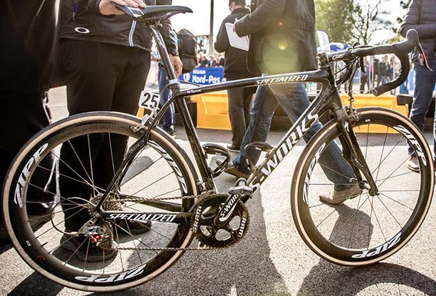Niki Terpstra's Specialized Roubaix SL4