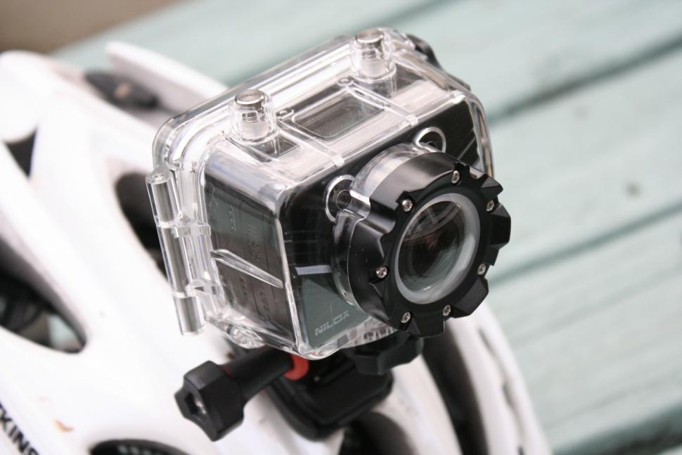 Nilox Foolish HD camera - helmet mount