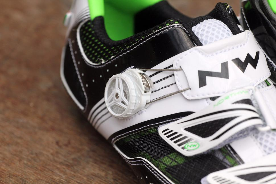 Northwave Galaxy Shoes Black-White-Green 2016