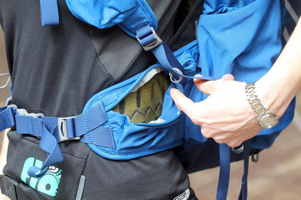 Osprey Escapist 32 Back Pack - waist strap pocket