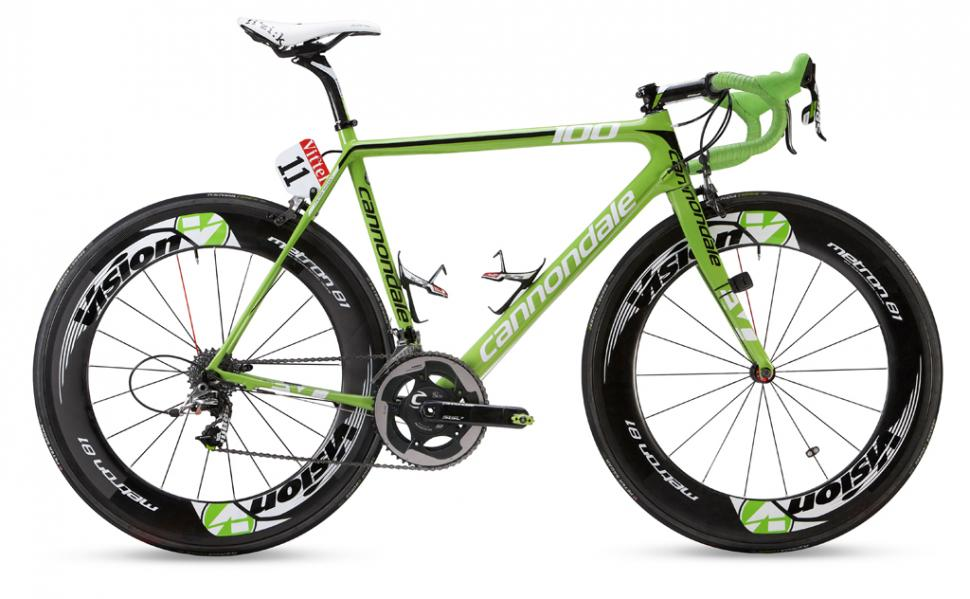 ff1bbc7db7 Peter Sagan Green Edition Cannondale SuperSix Evo launched