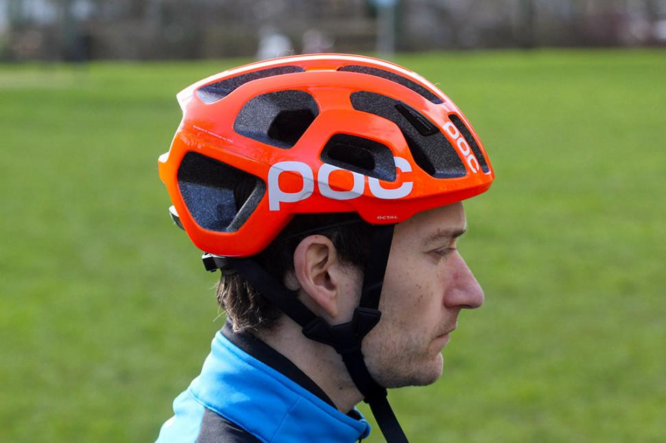 POC Octal Raceday Bike Helmet Navy Black