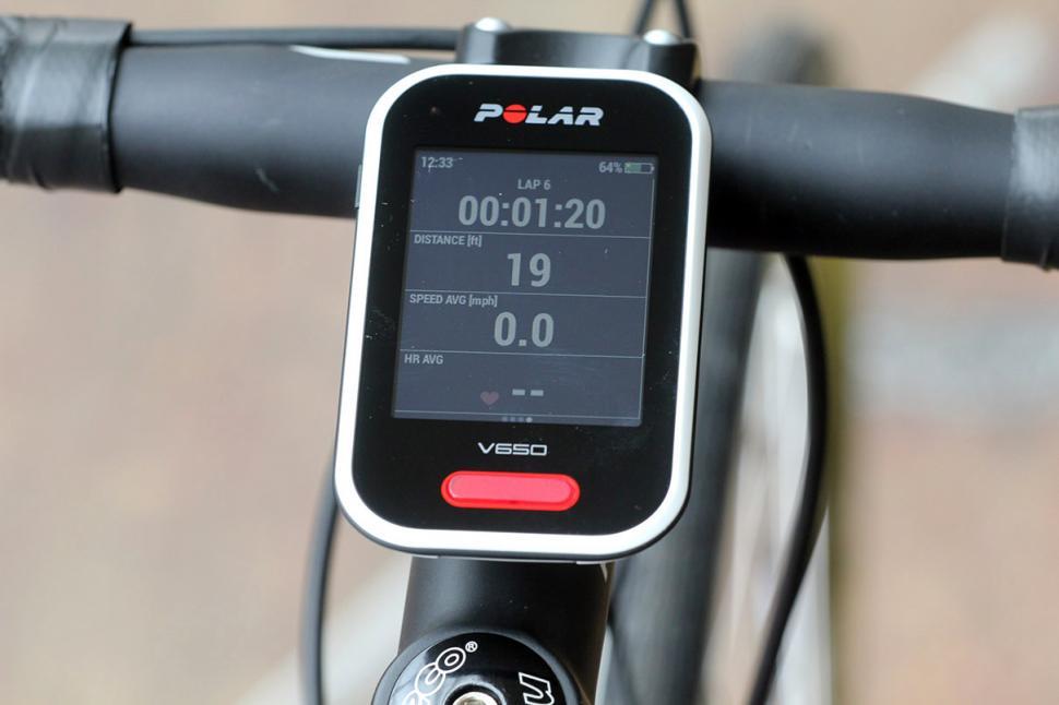 Polar V650 GPS cycling computer - screen 4