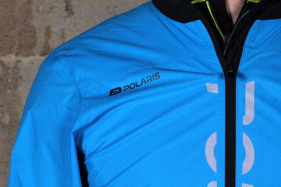 Polaris New Fuse Waterproof Jacket - shoulder