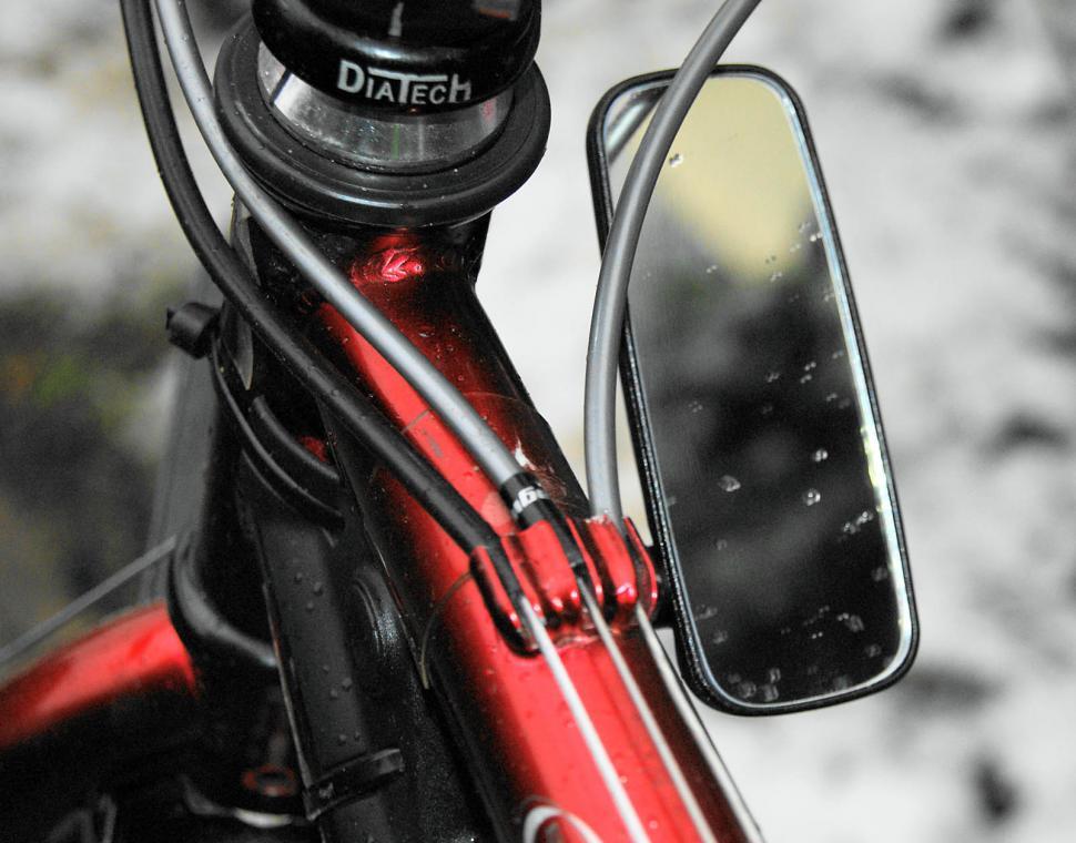 THIRD EYE FOAM HELMET MIRROR BIKE BICYCLE RIDING BLACK 3RD NEW