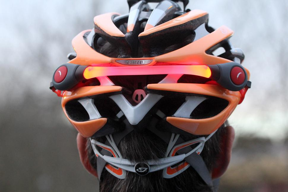 Review Chilli Technology Led Cycle Helmet Backpack Light Road Cc