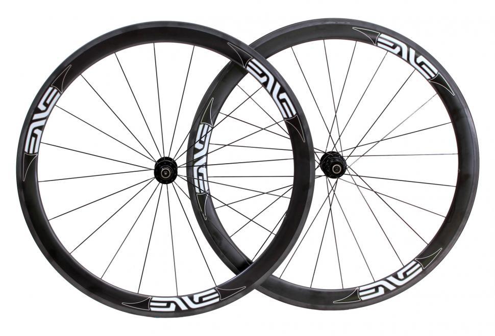 932fa4cabc0 Enve 45 Carbon clincher wheelset