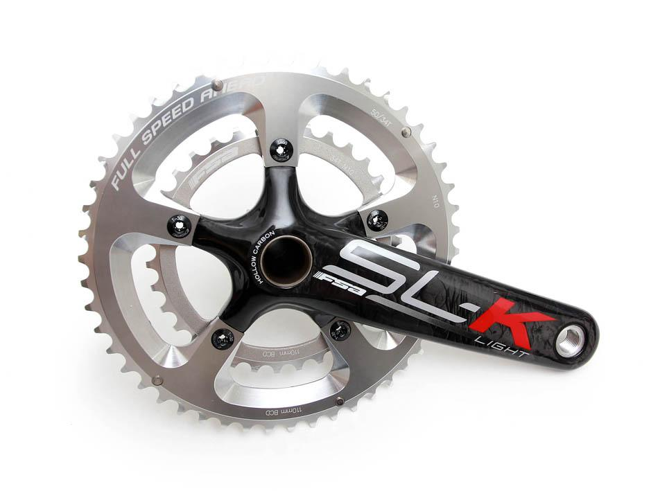 FSA SLK Drive Side Carbon Road Bike Crank Complete with Chain Rings