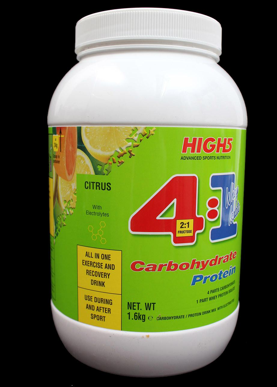 High5 4.1 Carbohydrate-Protein drink mix