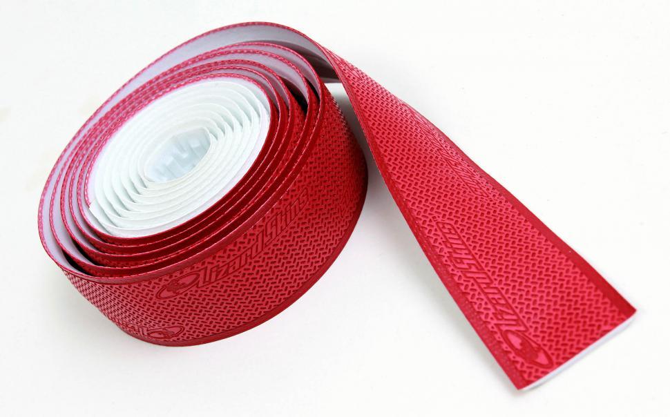 Black+Red Dual Color Road bike Cycling Lizard Skins DSP 2.5mm Bar Tape