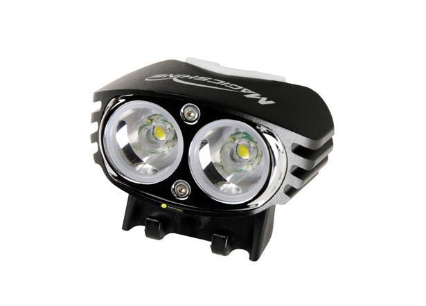 MagicShine MJ880 XM-L2 2000 Lumen LED Bike Light Head ONLY USED Mounting belt