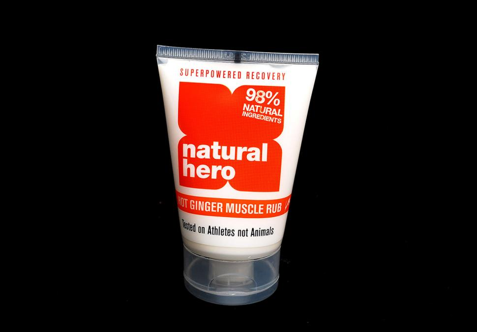 Natural Hero Hot Ginger Muscle Rub