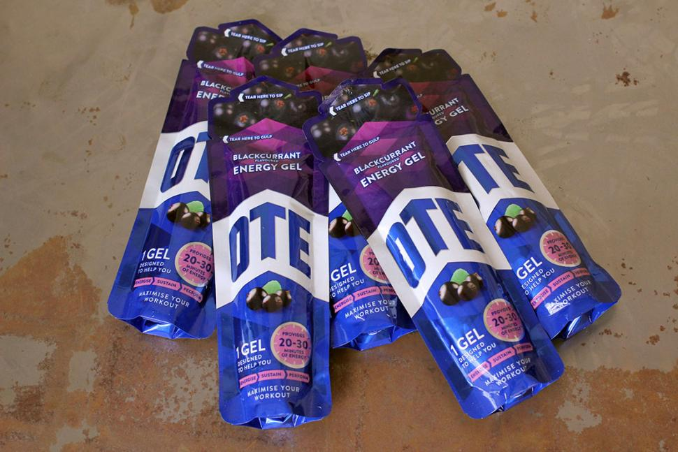 OTE Blackcurrant Energy Gel