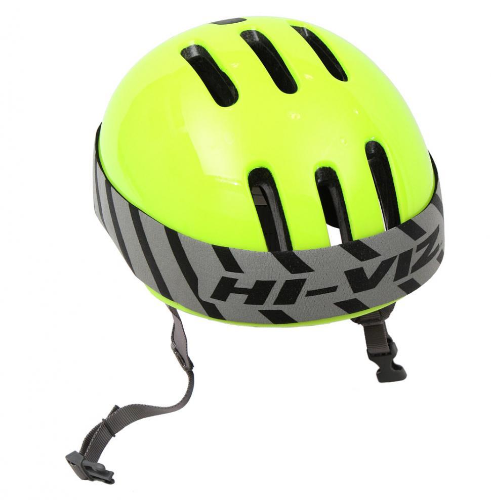 Respro helmet band - on helmet