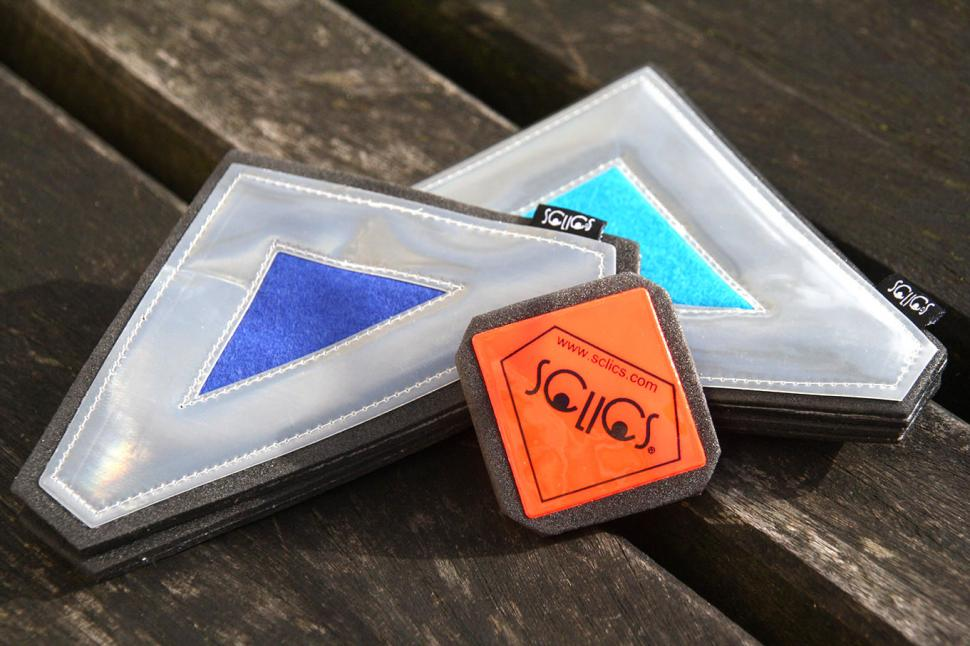 SCLICS Portable Refelective Magnetic Badges