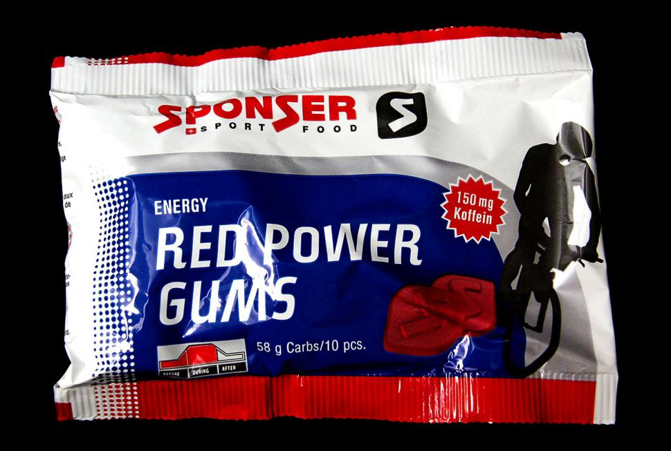 Sponser Red Power gums