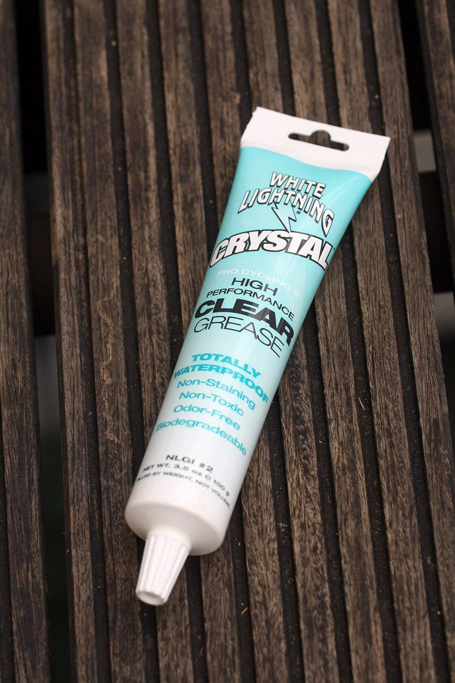 White Lightning Crystal Clear Grease