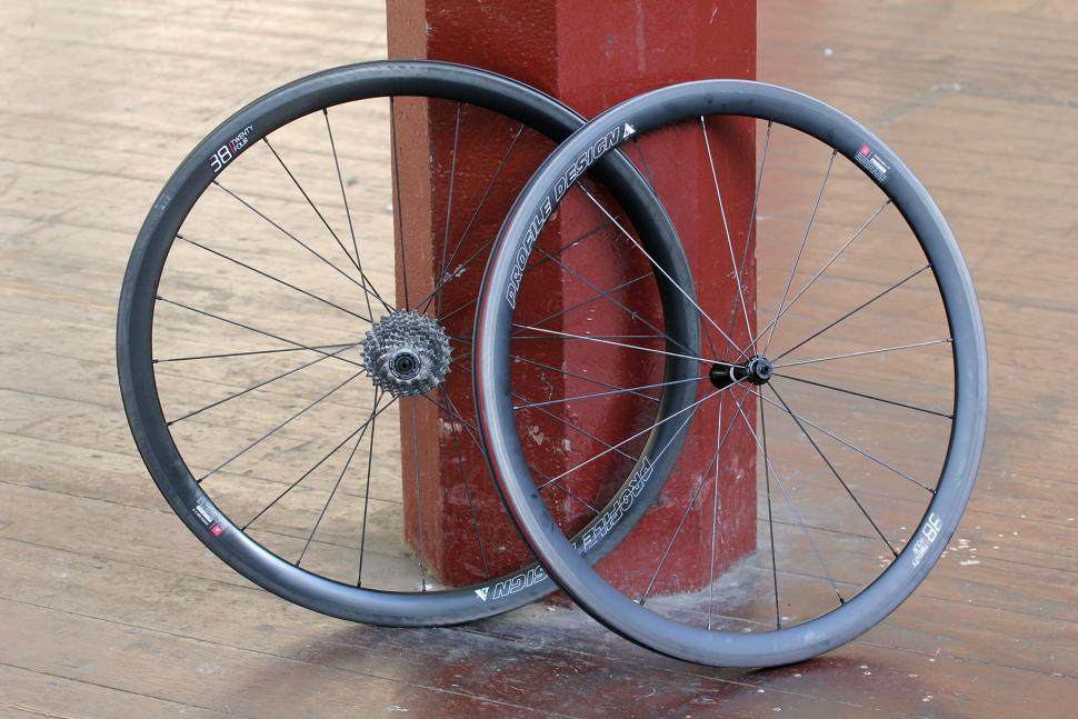 Review: Profile Design 38/TwentyFour Clincher wheels | road cc