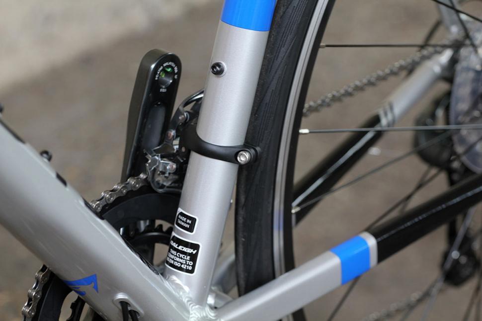 Raleigh Criterium Sport - seat tube detail