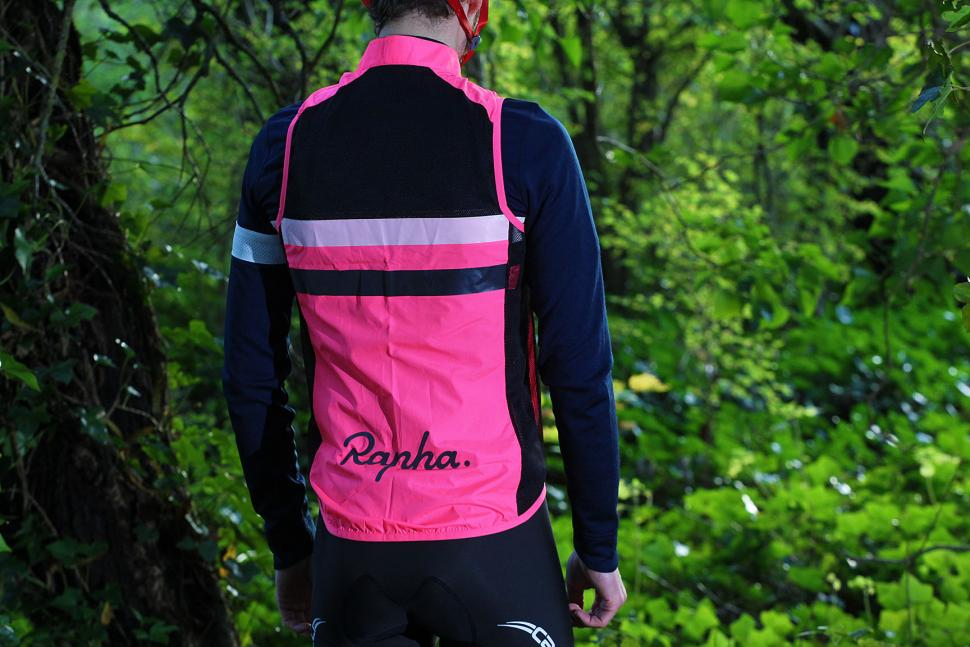 Rapha Long Sleeve Brevet Jersey - gilet back