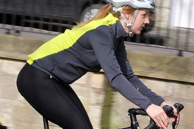 RAPHA Ladies Black Cycling Souplesse Training Jacket Activewear Size XXS NEW
