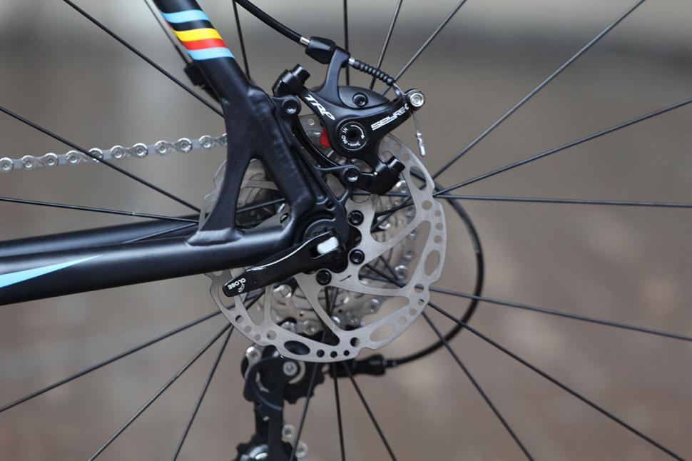 Ridley X-Bow 10 Disc - rear brake