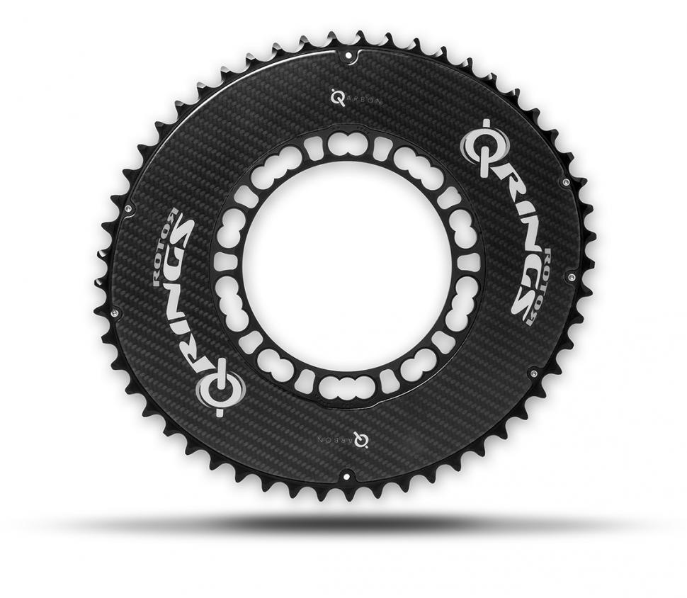 Rotor launches Qarbon carbon fibre chainring and QX1 single ring for 2016