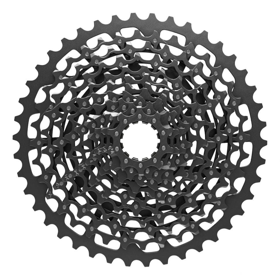 Huge 10-42 cassette gives a massive range