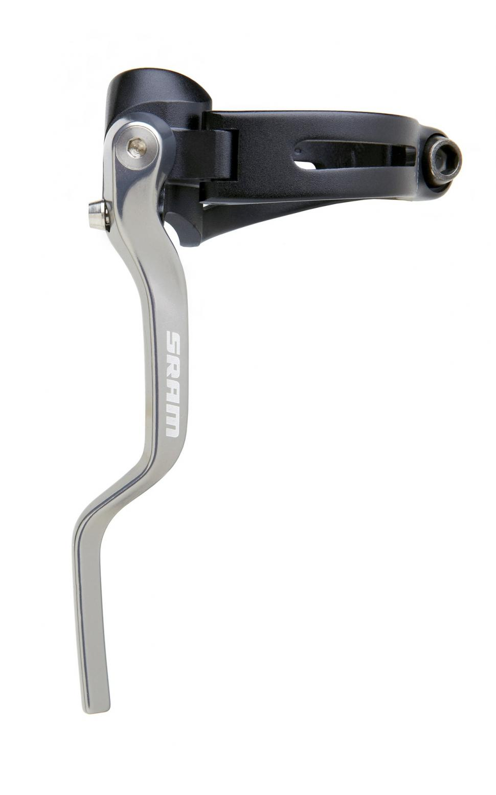 SRAM Front Derailleur Arm  with Chain Spotter- Front view