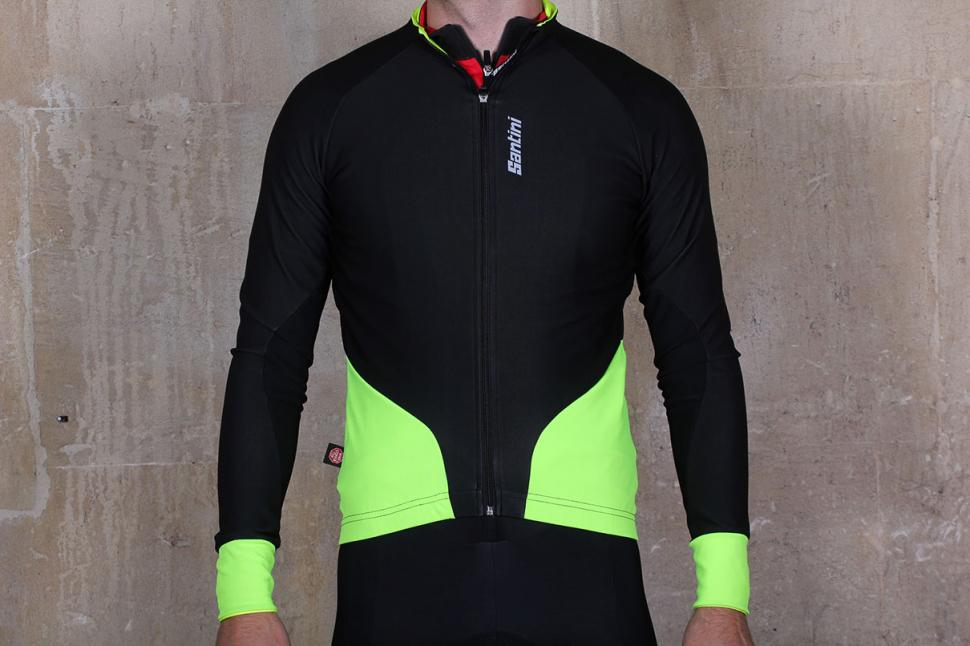 Review  Santini Beta Windstopper Jacket  600a3aced