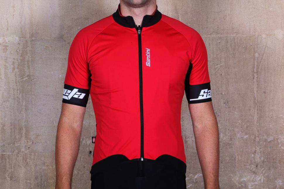 Santini Beta Windstopper SS Jersey