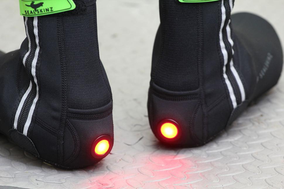 SealSkinz Neoprene Halo Overshoe - heels