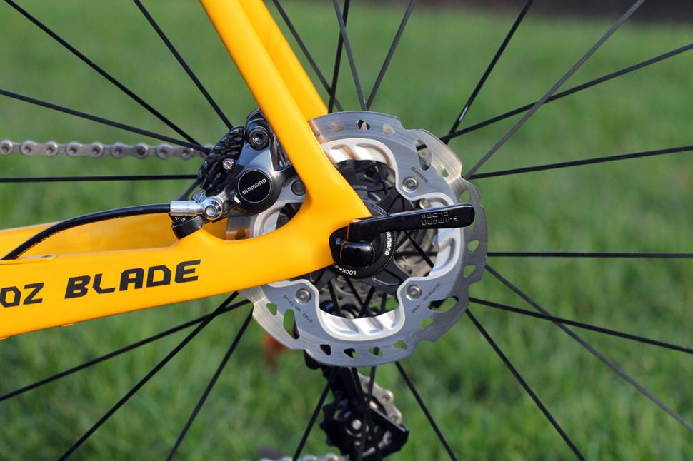 Shimano BR-R785 road hydraulic discs - rear disc