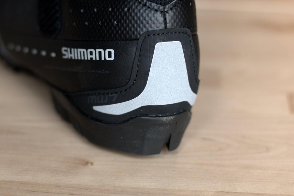 Shimano MW7 winter boots - heel cup