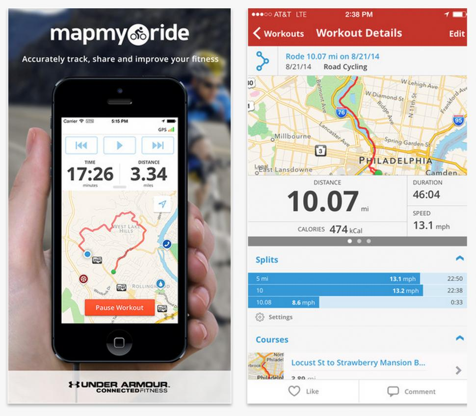 Of The Best Smartphone Cycling Apps For IPhone And Android Roadcc - Map my bike